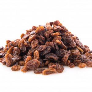 Sultanas dried seedless grape