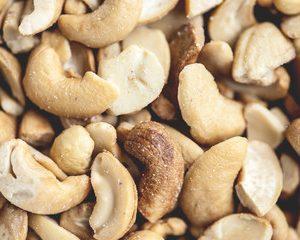 Cashew Nuts split in Half