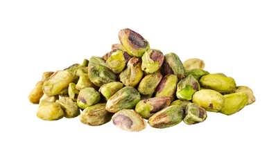 Unsalted pistachios without the shell