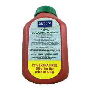 East End Green Colouring Powder 400g