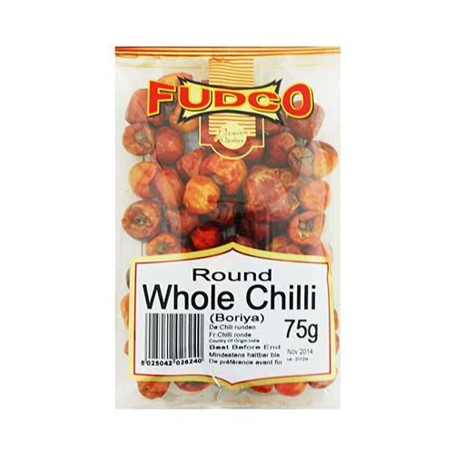 Fudco Round Whole Chilli