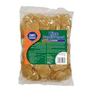Heera Rice Papdi Cumin 200g
