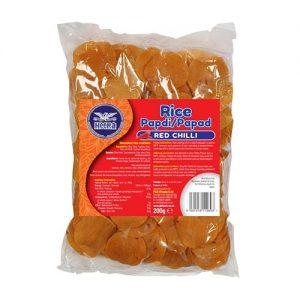 Heera Rice Papdi Red Chilli 200g