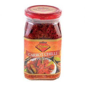 Rishta Carrot Chilli Pickle