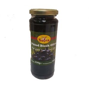 Softa Pitted Black Olives