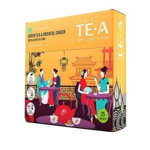 Sprig Green Tea with Ginger