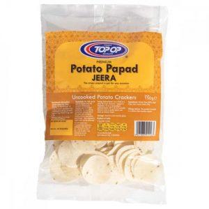 Top Op Potato Papad Jeera 150g