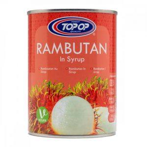 Top Op Rambutan in Syrup