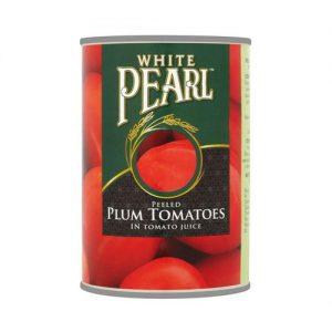 White Pearl Peeled Plum Tomatoes