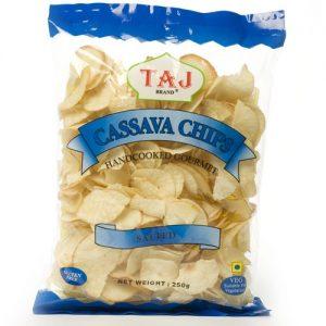 Taj Cassava Chips Salted