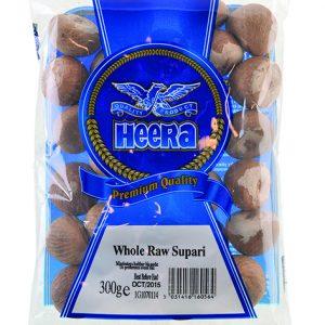 Heera Whole Raw Supari 300g