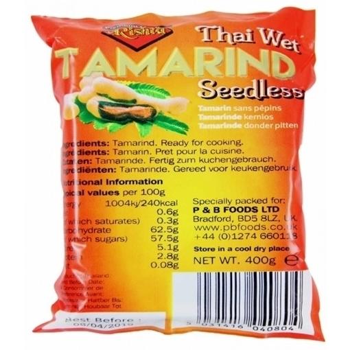 Rishta Tamarind Seedless 400g