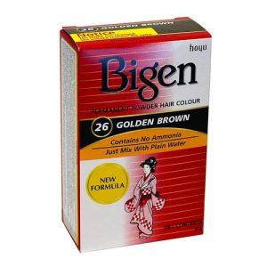 Bigen 26 Golden Brown