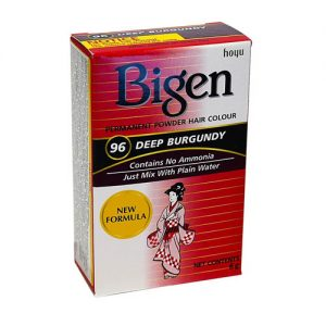Bigen 96 Deep Burgundy