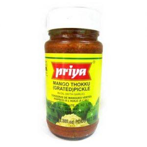 Priya Mango Thokku (Grated) Pickle